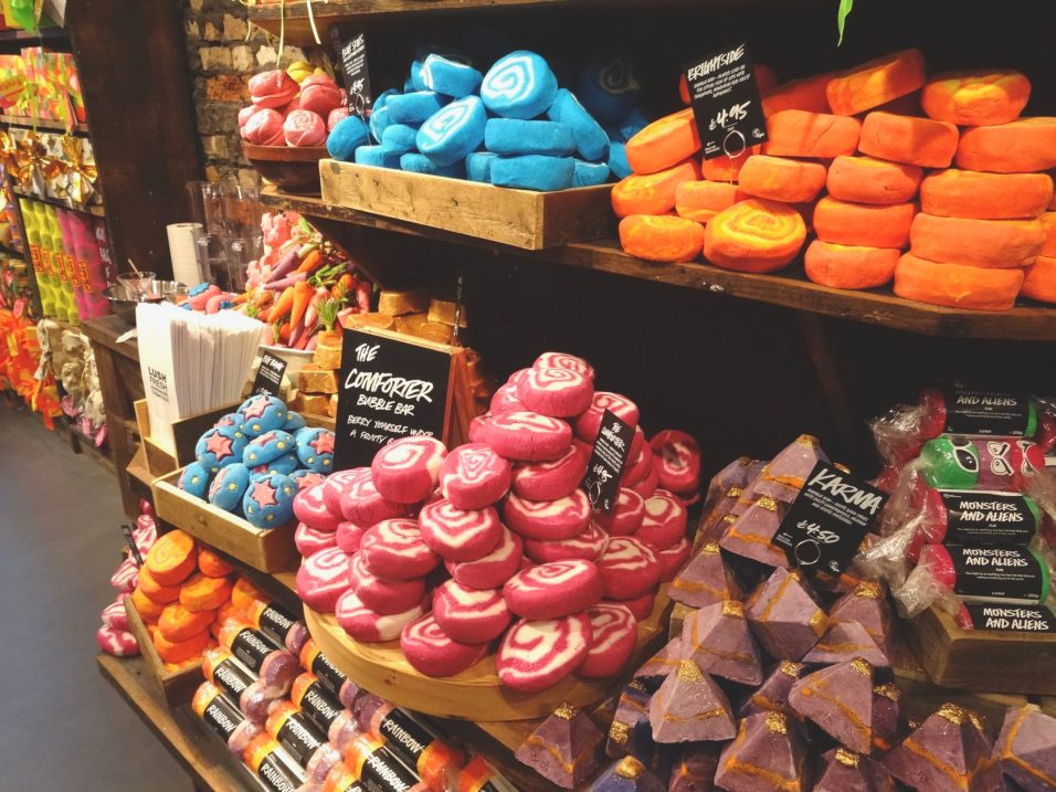 Lush Spa Cardiff Blogger Event