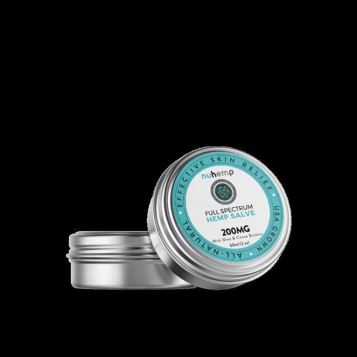Nuhemp Hemp Extract All Natural USA Grown Hemp Salve for effective skin relief