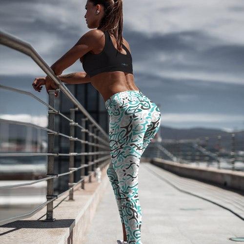 Nuhemp Celtic Capri Yoga Pants