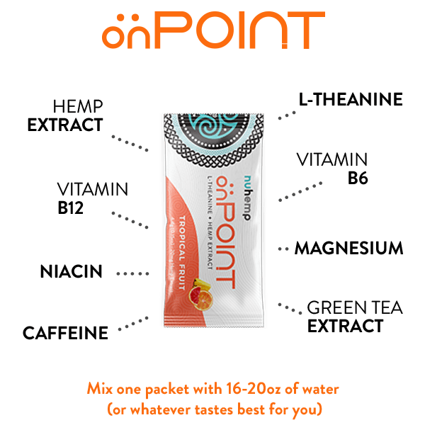 onpoint focus and energy ingredients