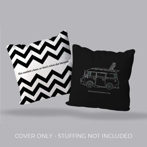 Nuhemp Vanlife Brand Hero Tribe Pillow Covers