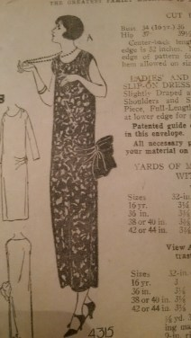 Ladies Home Journal 1920s dress 4315
