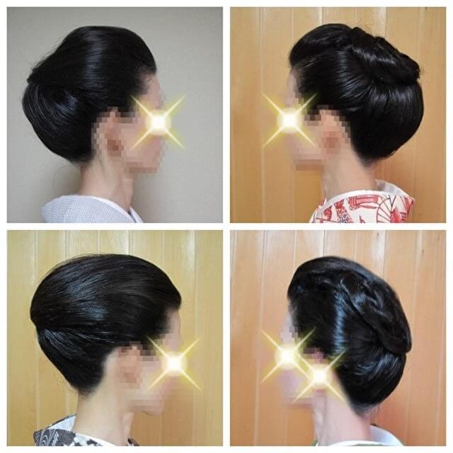 着物の髪型 30代40代50代 自分で簡単に出来るヘアアレンジヘアスタイル4パターン