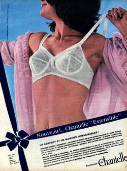 46 1964 Enchantée de Chantelle – Soutien-gorge « Amplivrai » 118