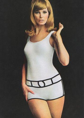 Oleg Cassini for Peter Pan Swimwear 1967