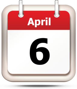 What's So Special About The 6th of April?