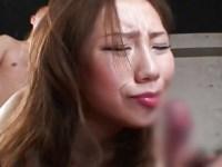 織澤リル (ミラー)上級美女が複数姦で舌上射精、顔射、中出しと大活躍