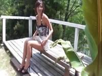 羽川るな 超くっきり日焼け跡の美女優さんがファン代表者男性にフェラ抜き、生ハメまで...