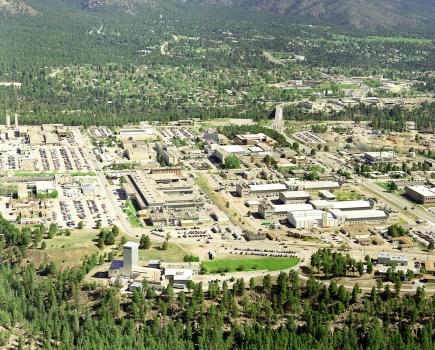 Los Alamos National Labs Ariel View