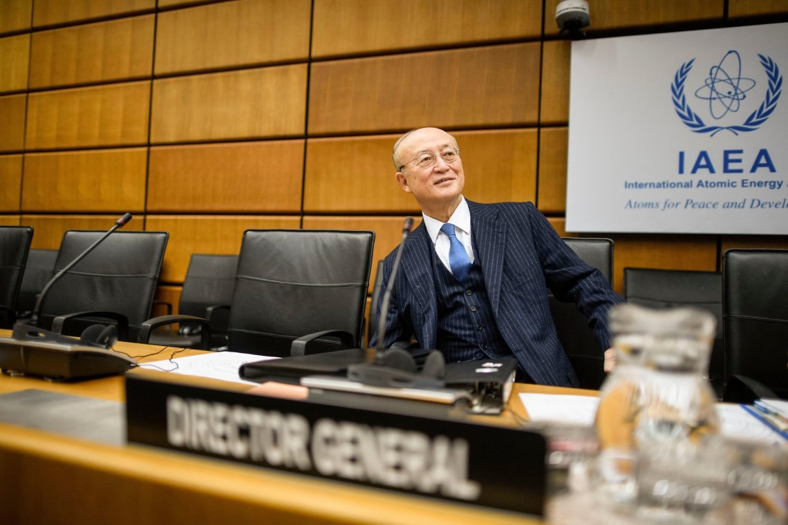 Yukiya Amano, Head of the I.A.E.A. Nuclear Watchdog Group Dies at 72 -Yukiya Amano in Vienna in November. Before his death, he was apparently preparing to step down as the head of the International Atomic Energy Agency.CreditCreditChristian Bruna/EPA, via Shutterstock