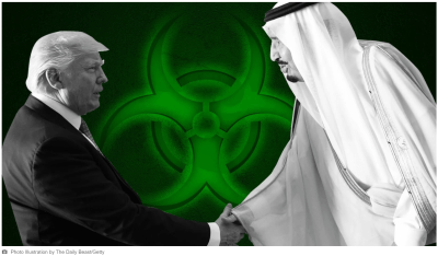 Inside the Secret Campaign to Export U.S. Nuclear Tech to Saudi Arabia - Photo Illustration by The Daily Beast/Getty