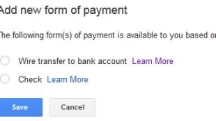 Pembayaran Google AdSense Melalui Wire Transfer - Pembayaran Google AdSense