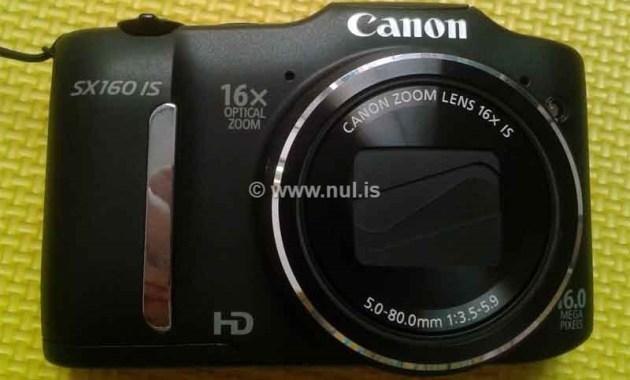 Bagian Depan Canon PowerShot SX160 IS