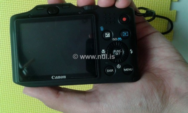 Layar LCD Canon PowerShot SX160 IS