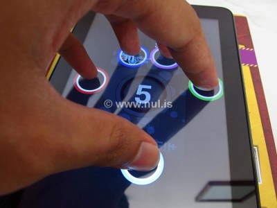 5 Point Touchscreen Acer Iconia Tab 7