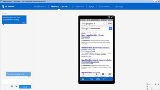 Aplikasi Android Teamviewer QuickSupport