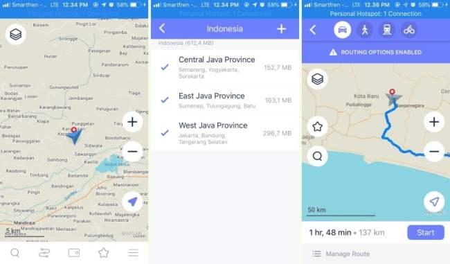 maps.me - Aplikasi Peta Offline Pengganti Google Maps - Aplikasi GPS Peta Offline MapsMe
