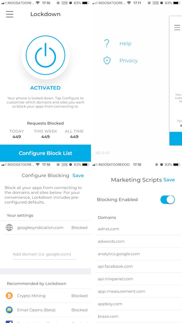 Lockdown Apps - Aplikasi Firewall untuk iOS - Aplikasi iPhone iOS Lockdown Apps