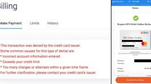 BNI Debit Online Mastercard Ga Ada Gunanya! - BNI Debit Online Transaksi Online