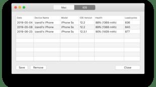 coconutBattery - Cek Kondisi Baterai MacBook Pro dan iPhone - Cara Melihat Cycle Count iPhone 5s