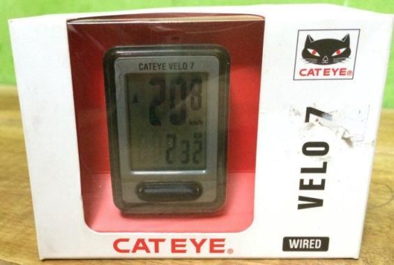 Review Speedometer Sepeda Cateye Velo 7 - Cateye Velo 7