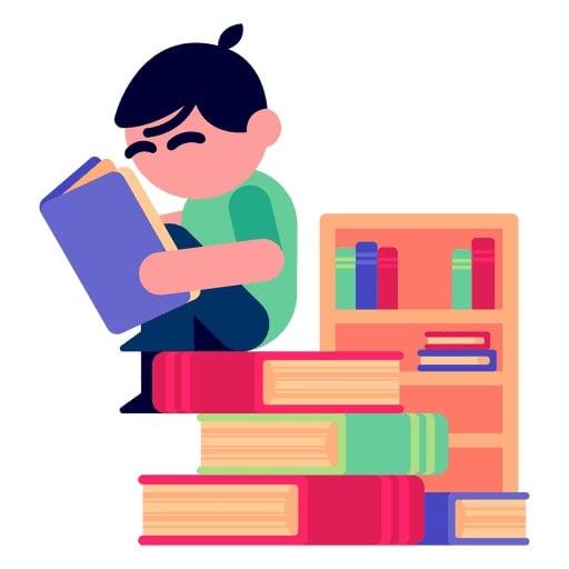 Cerbung.net, Situs Baca Cerita Asik dengan Berbagai Genre - Ilustrasi Membaca