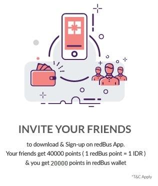 Pertama Kali Naik Bis Efisiensi ke Jogja Pesan Tiket Online di Redbus - Kode Referensi Redbus Terbaru