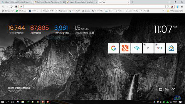 Review Browser Brave