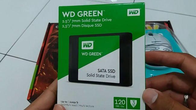 PC Semakin Cepat dengan Upgrade ke SSD - SSD WD Green 120GB