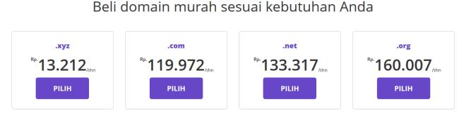 Hostinger Indonesia - Web Hosting Terjangkau untuk Blogger Indonesia - domain murah hostinger
