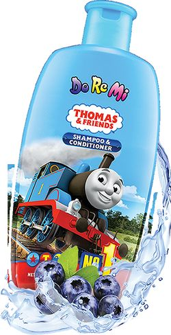 Keunggulan Sabun Mandi & Shampo Anak Doremi Thomas & Friends - doremi bottle