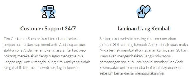 Review Web Hosting Indonesia Terbaru - Hosting24.com - jaminan service