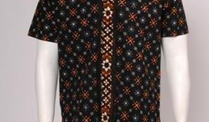 Aneka Desain Kemeja Batik Pria Modern - kemeja batik hitam