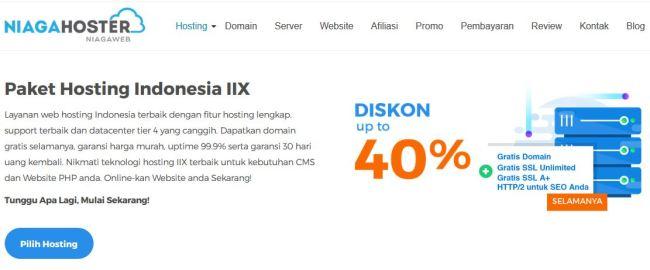 Niagahoster Solusi Hosting Indonesia Berkualitas untuk Blogger - paket hosting indonesia