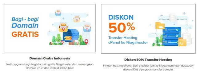 Niagahoster Solusi Hosting Indonesia Berkualitas untuk Blogger - promo niagahoster
