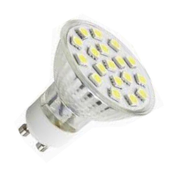 GU10 spot 30 SMD LED Warm wit