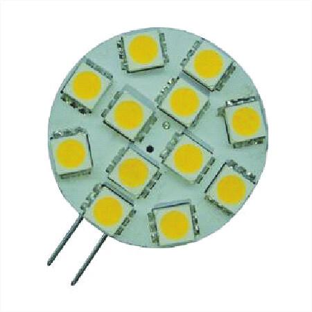 G4 /GU4/ mr11 multi-voltage LED Warm wit 12 SMD 12v 24v
