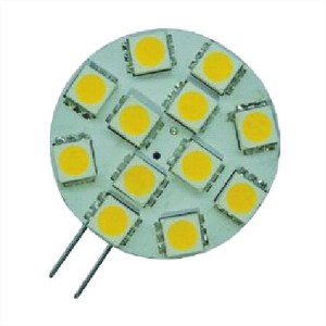 G4 /GU4/ mr11 multi-voltage LED Warm wit 12 SMD 12v 24v
