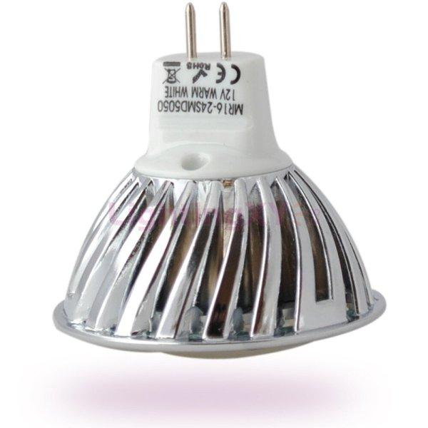 MR16 12v en 24v volt 10-30volt 24smd led spot