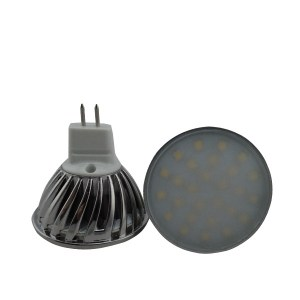 MR16 LED spot 4W 12V & 24V Melkglas-0