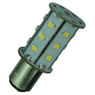 BA15D LED Lamp met nacht sensor-0