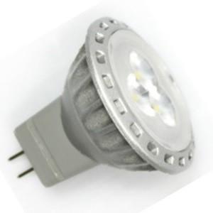 MR11 / GU4 Led Spot 3 SMD Warm wit-0