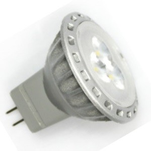 MR11 / GU4 Led Spot 3 SMD Warm wit-0