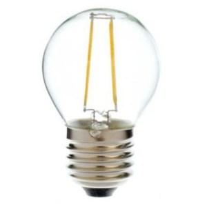 12V en 24 volt E27 Filament lamp 2 watt