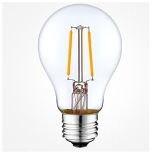 12 volt E27 Filament lamp A60 2W 10-30v multi-voltage.