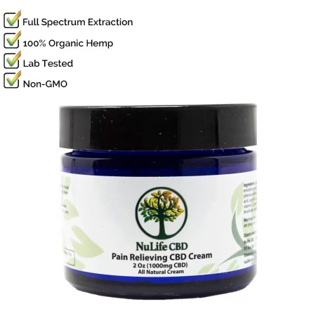 Nulife CBD 500mg Cream Salve