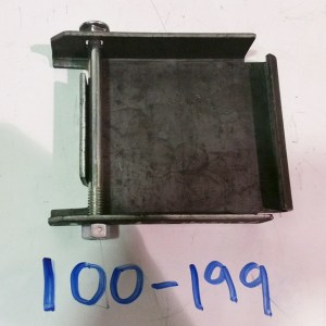 2 Yard Rearloader Container Caster Pad and Hardware 100-199