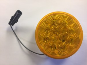 "4"" Amber LED Smart Lamp Roadside, Upper 4344A-2"