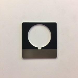 Nameplate, Blank 800T-X559