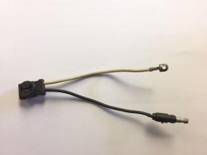 Clear LED Adapter Plug 94862